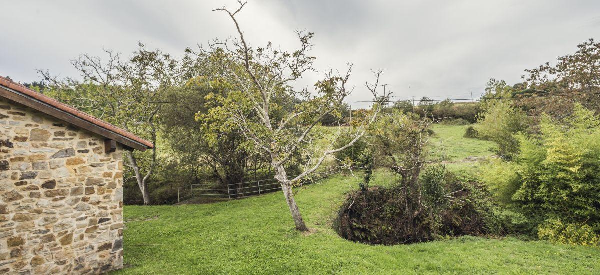 Casa Rural Errota Barri jardines casa Errota Barri Rusticae