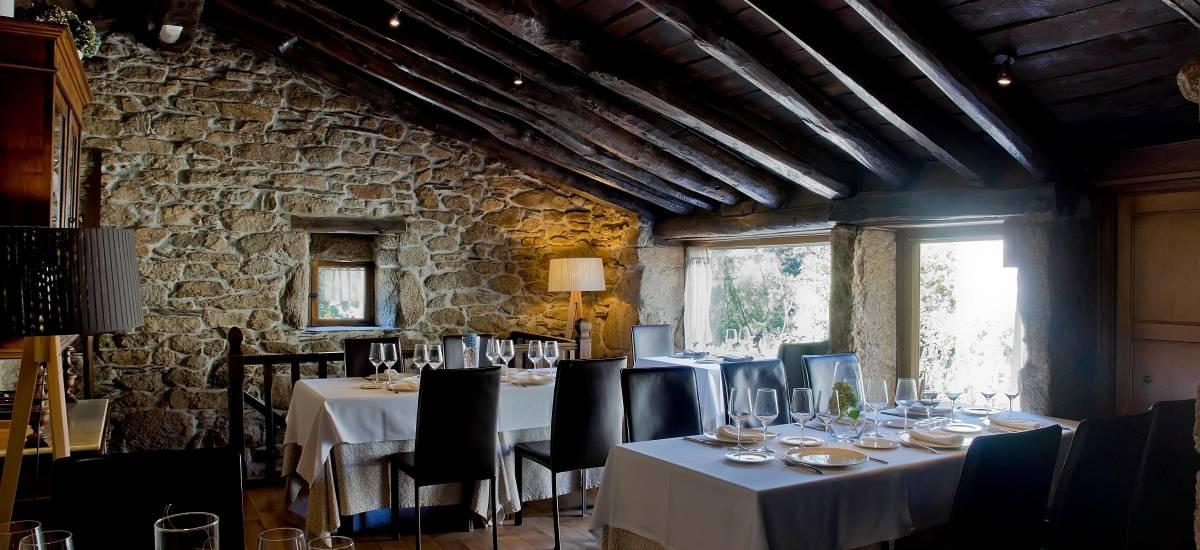 Rusticae Lugo Hotel con encanto Comedor