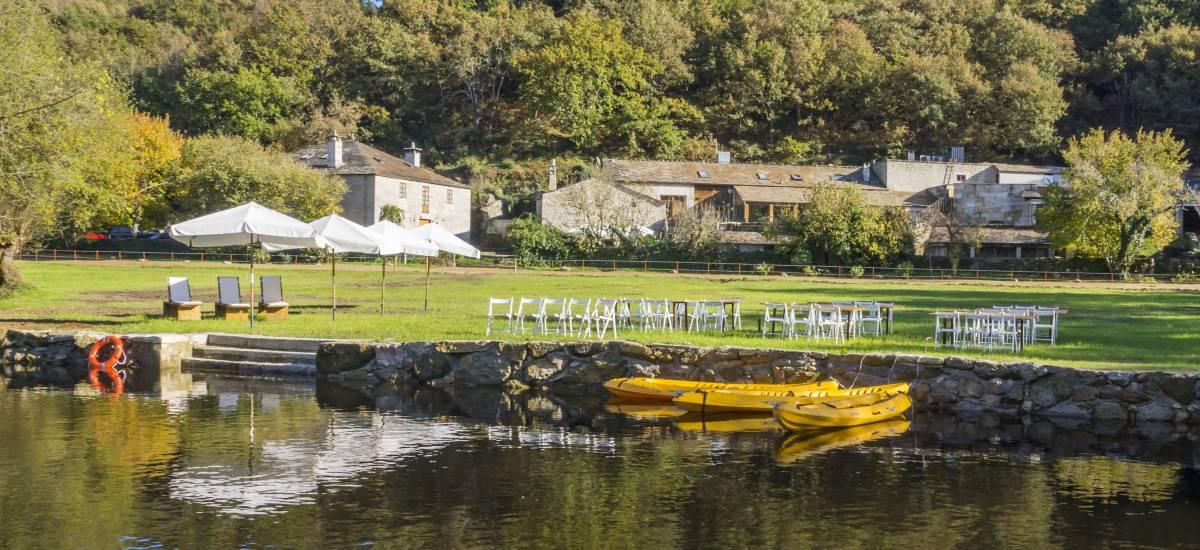 Rusticae Lugo charming Hotel Fervenza sourroundings