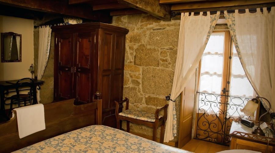 Rusticae Lugo Hotel con encanto Habitación