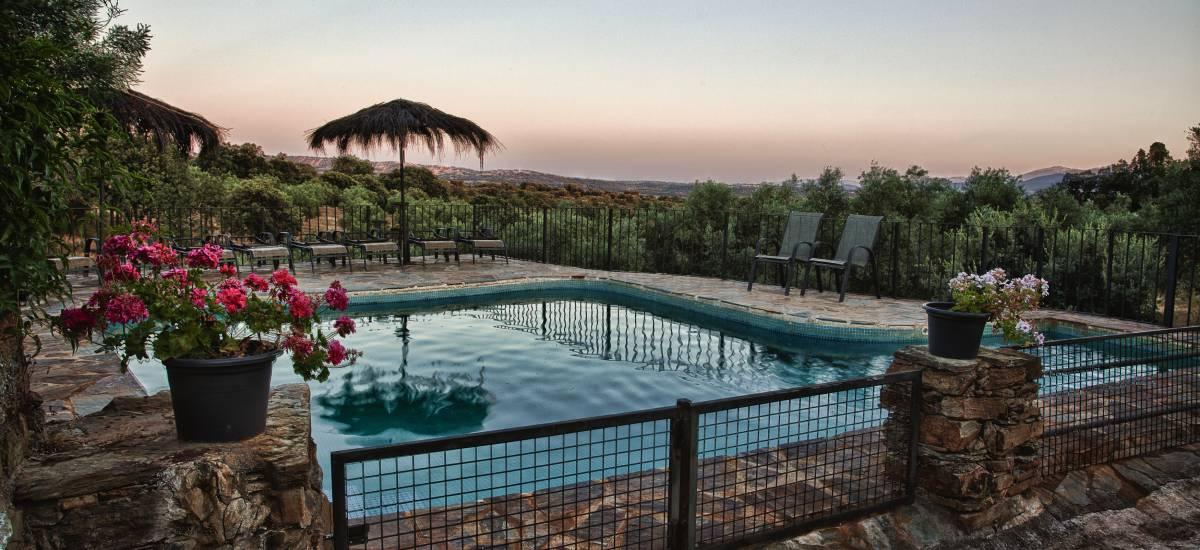 Finca la Ramallosa San Martin de Trevejo Caceres Pool