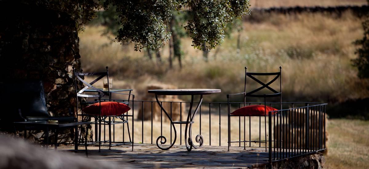 rusticae cáceres charming hotel terrace