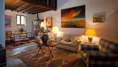 Rusticae Cáceres Hotel con encanto Salón