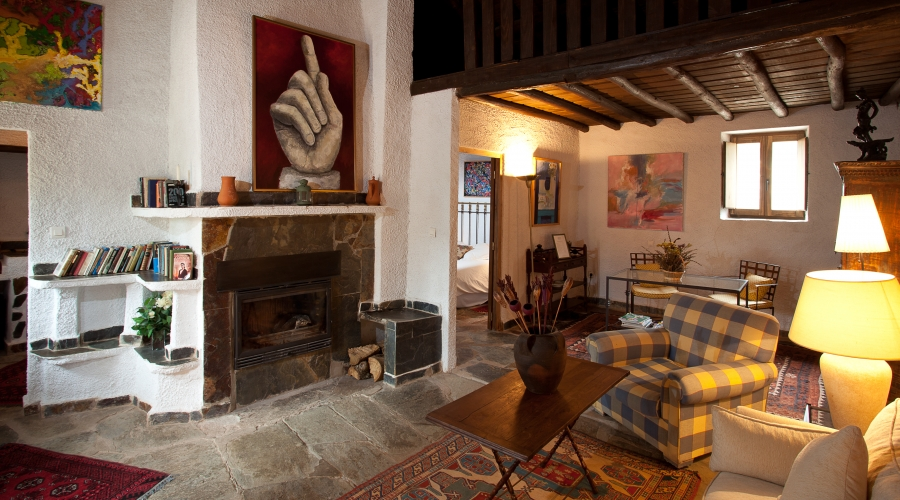 Rusticae Cáceres Hotel con encanto Zona común