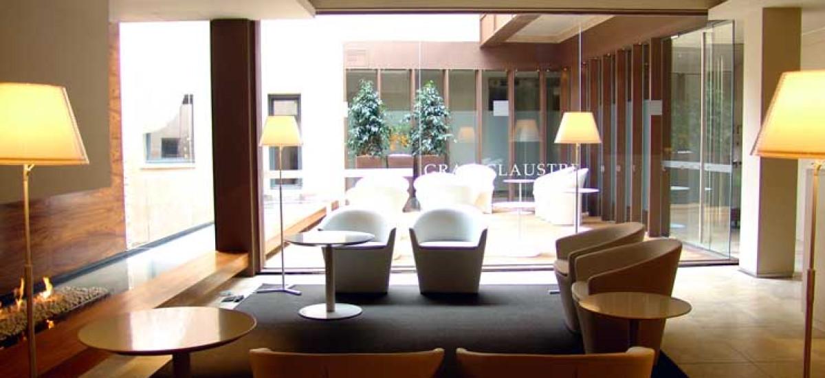Rusticae Tarragona Hotel Claustre gastronomico Zona común