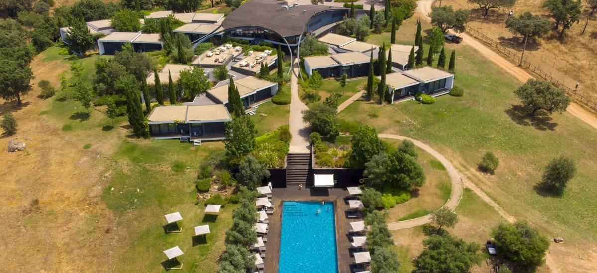 Herdade Da Cortesía Hotel Avis Portugal Exterior Aereal