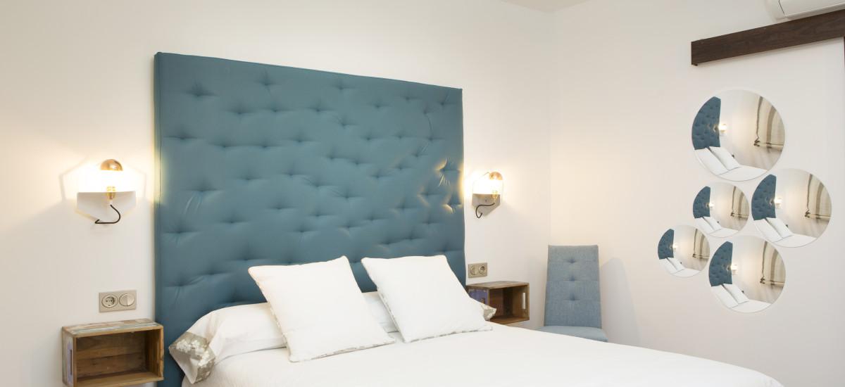 Hotel Hierba Luisa Rusticae cama3
