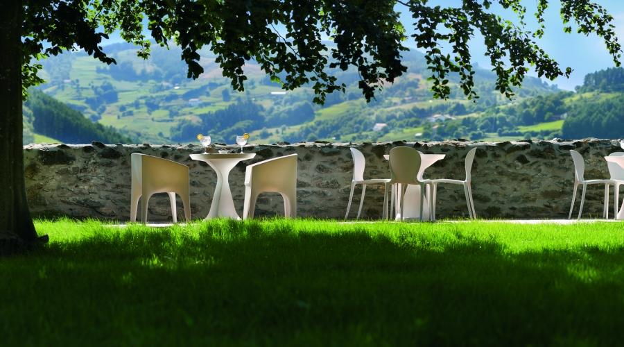Rusticae Gipuzcoa Hotel con encanto Terraza