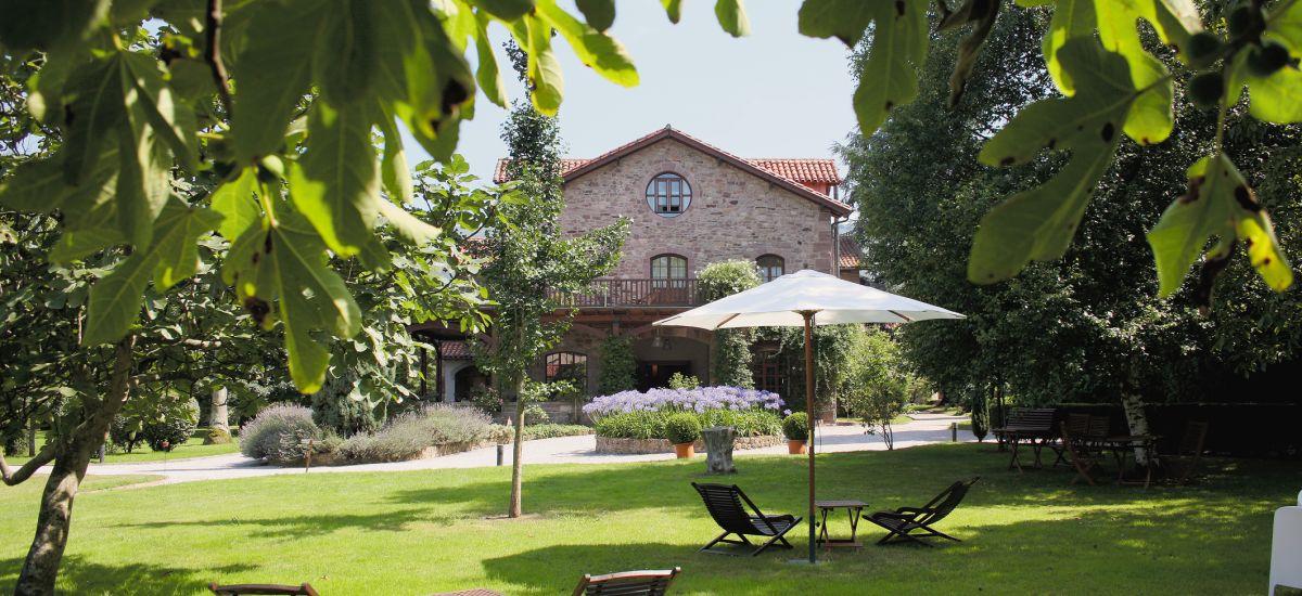 Rusticae Cantabria Hotel Jardín de Carrejo rural descripción