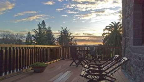 Rusticae Cantabria Hotel Jardín de Carrejo rural terraza