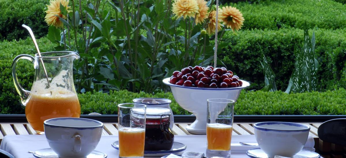 Caceres Rusticae charming hotel breakfast