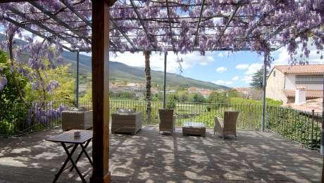 Rusticae Cáceres Hotel con encanto Terraza