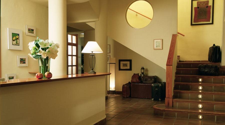 Rusticae Toledo Hotel L'Estació con encanto Recepción