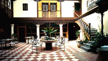 Casa del Rector Hotel Spa en Almagro Cuidad Real Rusticae Hall
