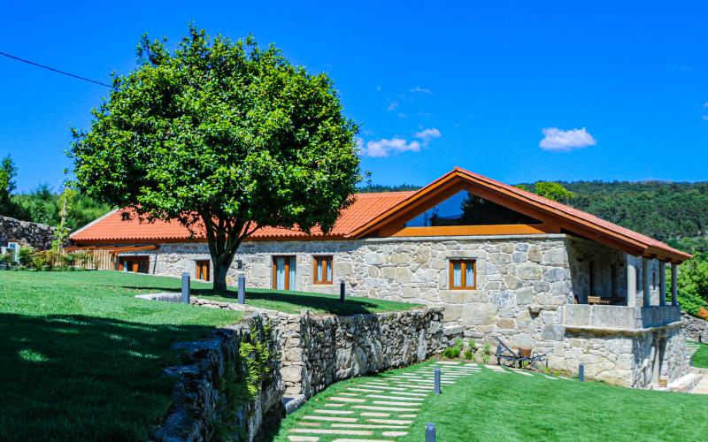 Hotel La Rectoral Covelo Pontevedra Entrada