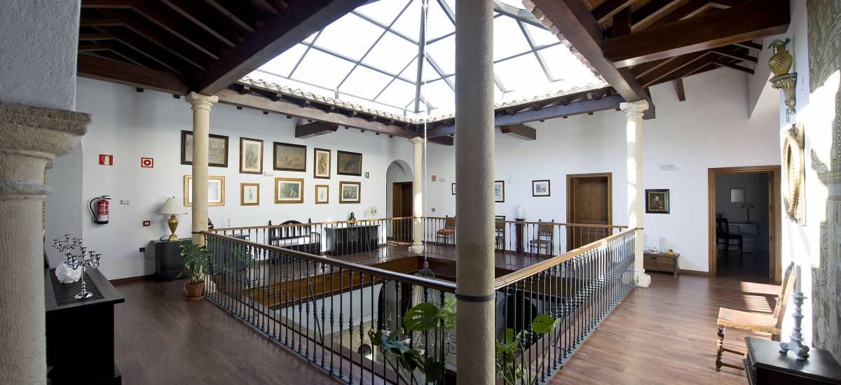 Rusticae Jaén Hotel con encanto Zona común