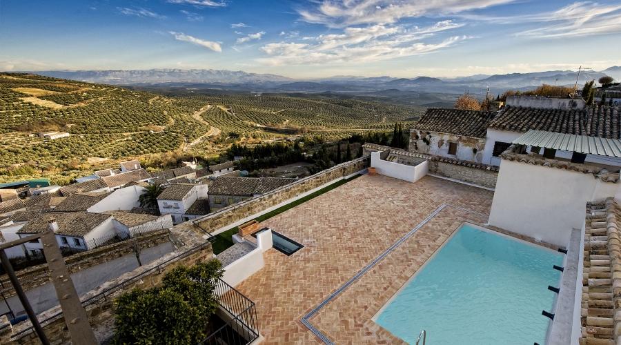 Rusticae Jaén Hotel con encanto Piscina