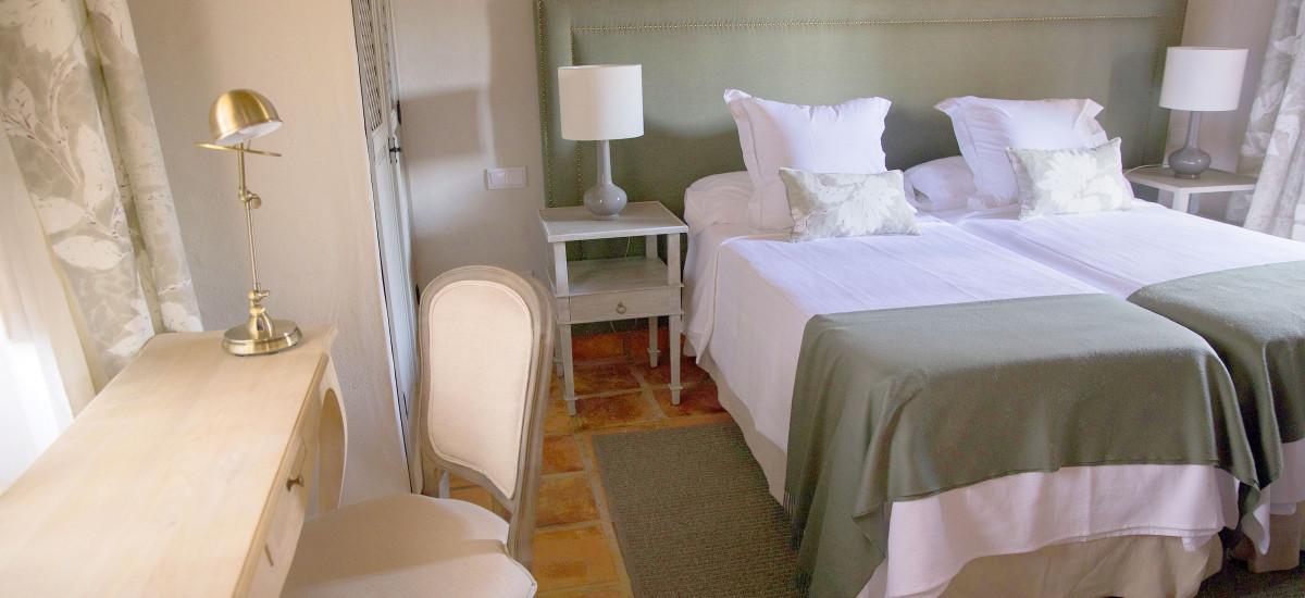 Hotel Las Tejuelas, Hotel Las Tejuelas Rusticae camas