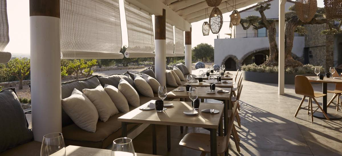 Rusticae Hotel Girona Gerona con encanto Comedor exterior