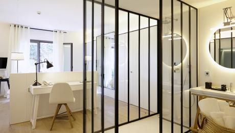 Rusticae Hotel Mas Lazuli Girona Gerona con encanto baño