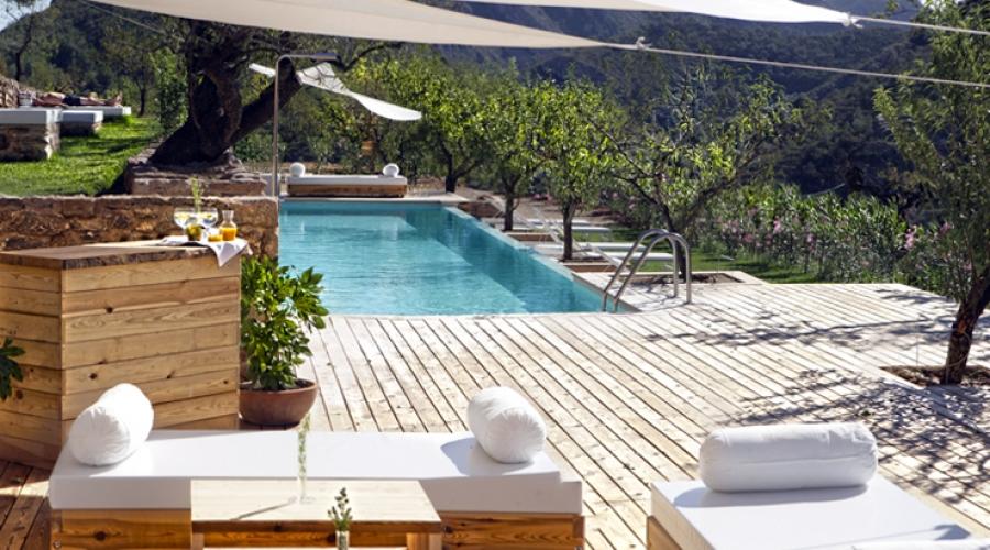 Rusticae Tarragona Hotel Mas Mariassa romantico Piscina