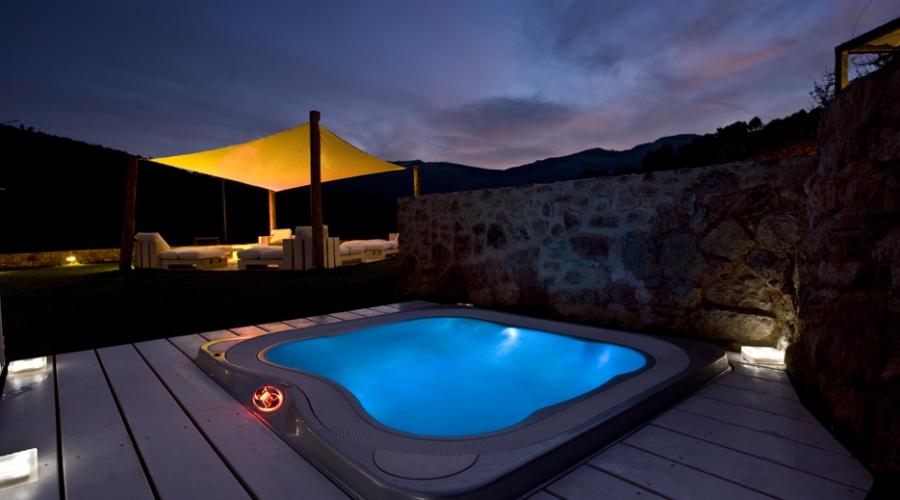 Rusticae Tarragona Hotel Mas Mariassa romantico Jacuzzi