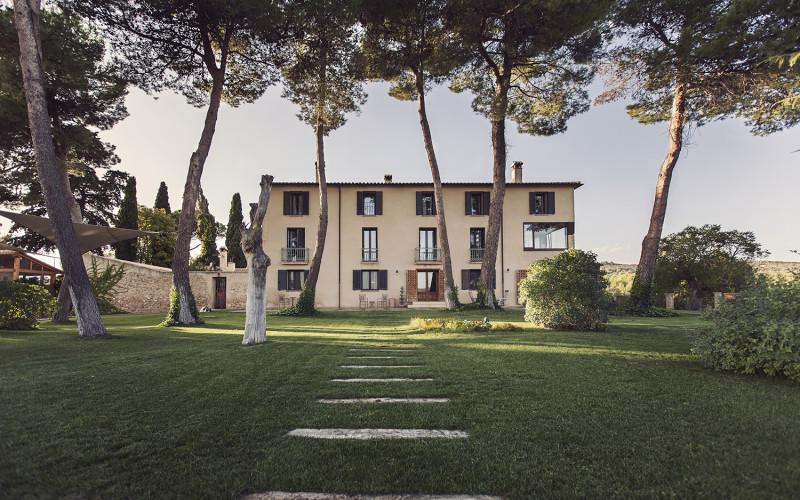 MasQi, The Energy House jardin entrada Hotel Rusticae MasQi