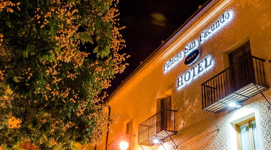 Rusticae Segovia Hotel Palacio S Facundo gastronómico Entrada