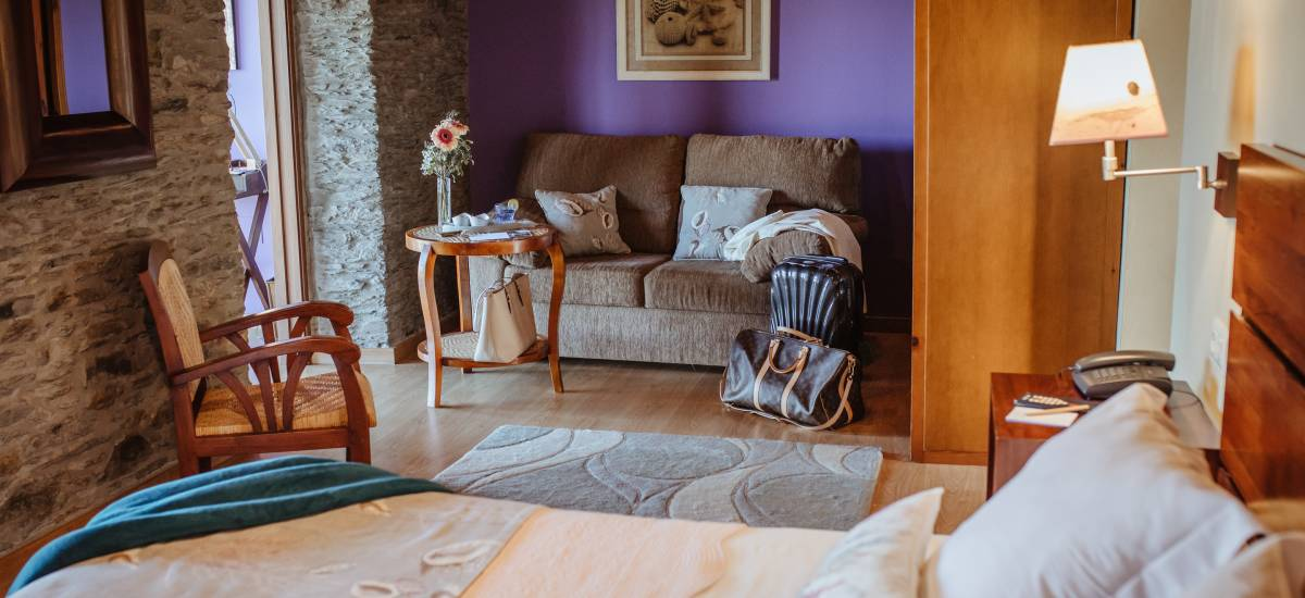 Hotel Pleamar en Asturias habitacion 2