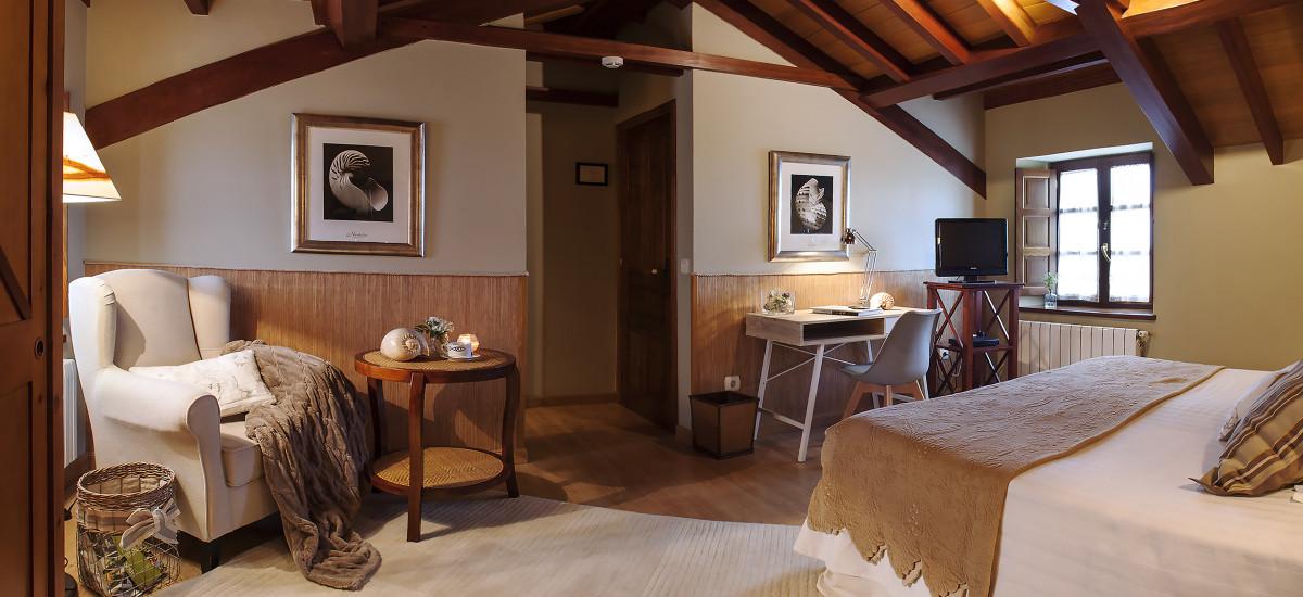 Hotel Pleamar en Asturias habitacion4
