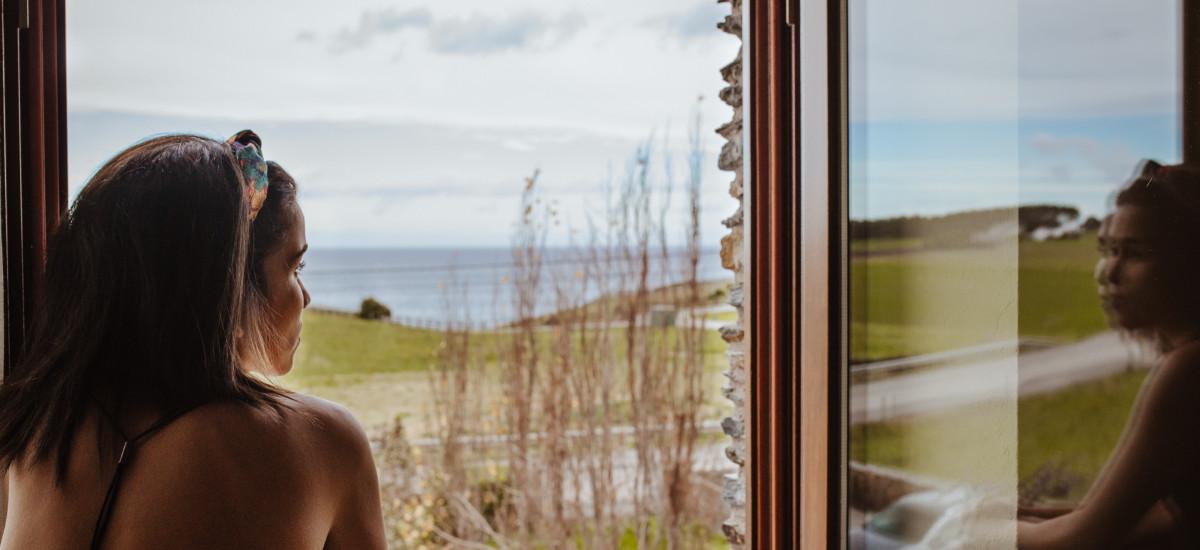 Hotel Pleamar en Asturias habitacion