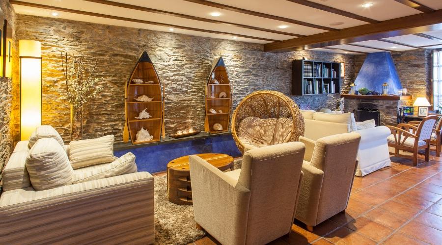 Rusticae Asturias Hotel Pleamar de playa Salón
