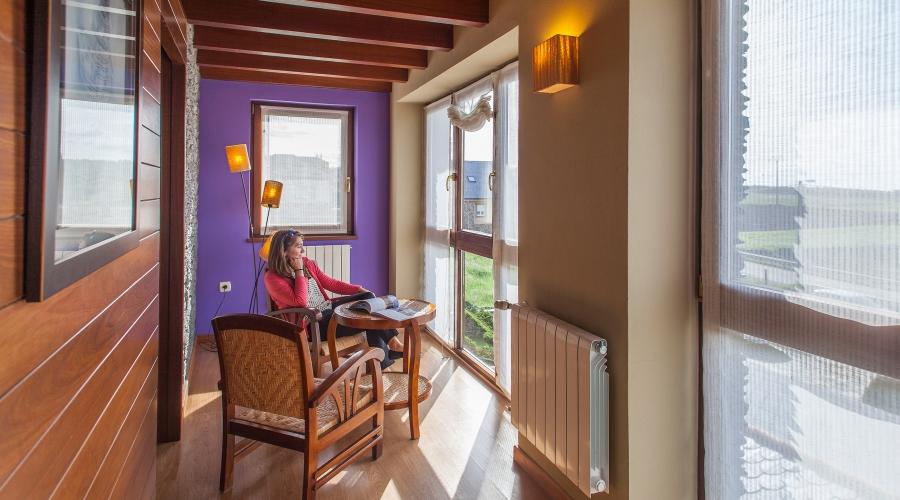 Rusticae Asturias Hotel Pleamar de playa con vistas