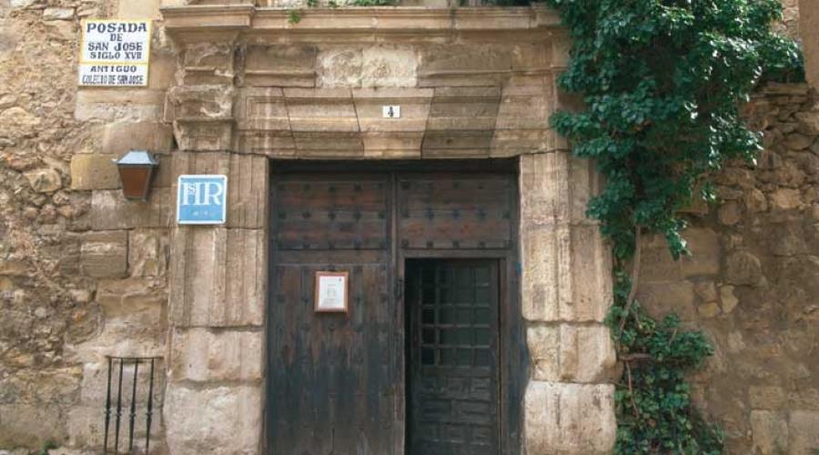 Rusticae Hotel Cuenca con encanto Entrada