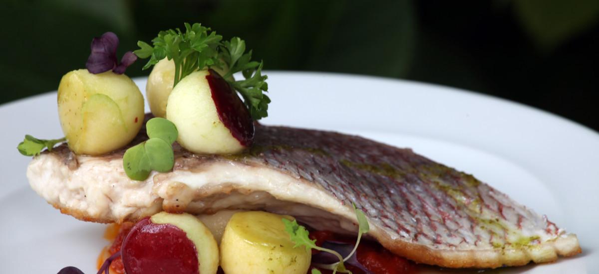 Rusticae Madrid Hotel Quinta de los Cedros gastronomic plate