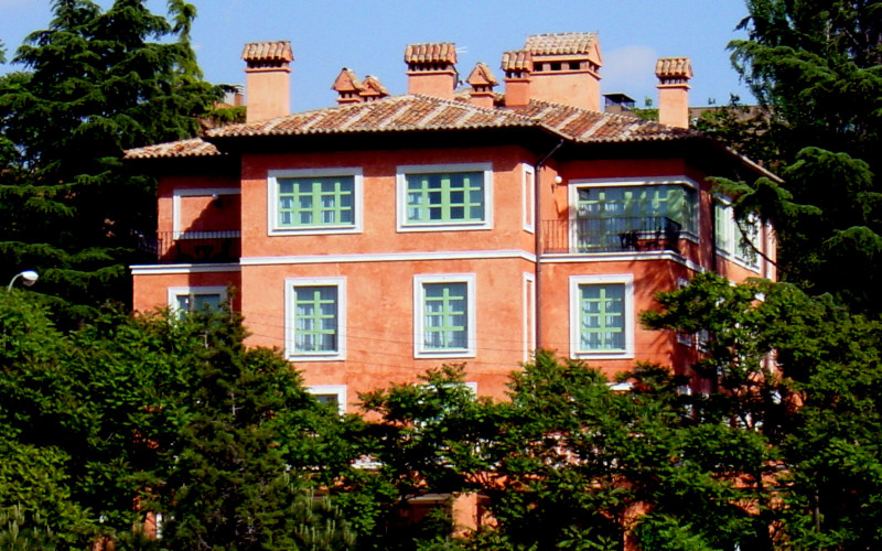 Rusticae Madrid Hotel Quinta de los Cedros gastronomic outside