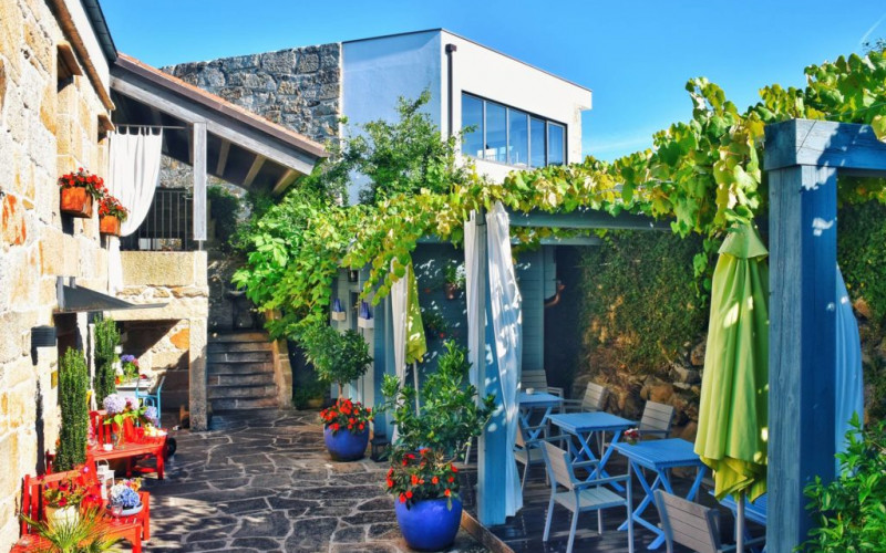 Hotel Quinta de San Amaro con piscina en Galicia