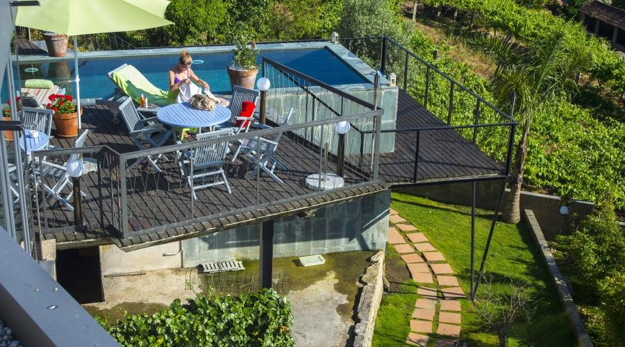 Rusticae Pontevedra Hotel Quinta Amaro con piscina