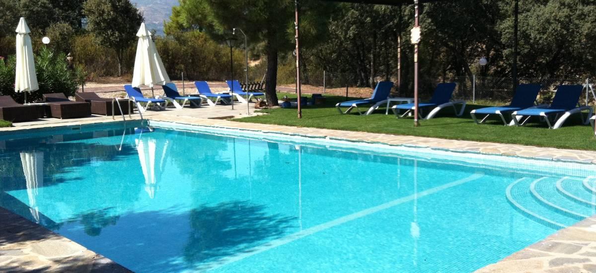 Rusticae Ávila Hotel con encanto Alrededores Piscina