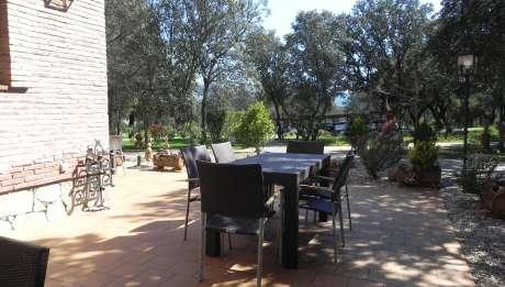 Rusticae Ávila Hotel con encanto Terraza