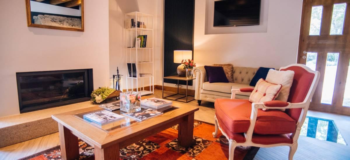 Rusticae Avila Hotel Rural Gredos Maria Justina salon