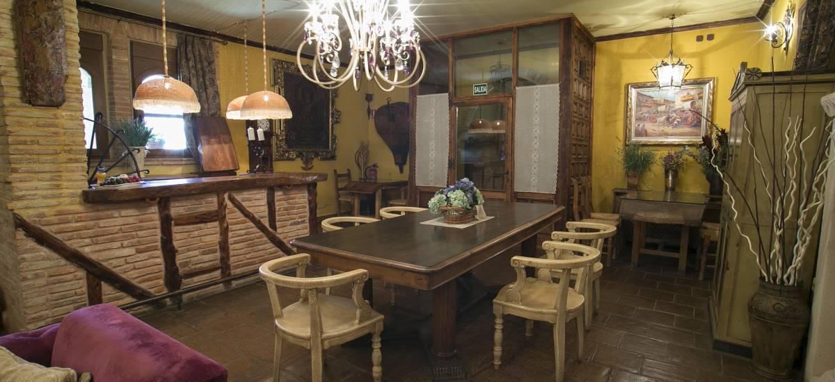 Hotel Hoces del Duratón Rusticae zona comun