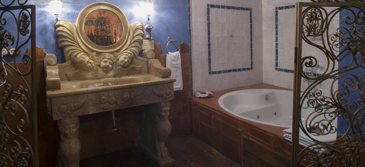 Rusticae Segovia Hotel Hoces Duraton romantico Baño