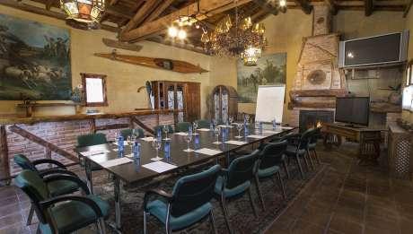 Rusticae Segovia Hotel Hoces Duraton romantico Sala reuniones