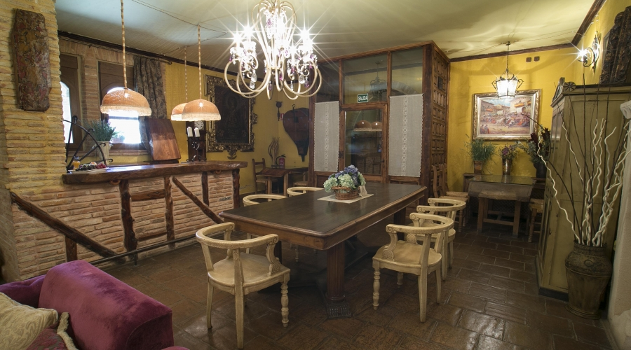 Rusticae Segovia Hotel Hoces Duraton romantico Zona común
