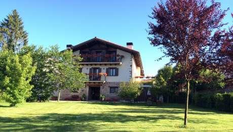 Iribarnia Rural Hotel in Navarra