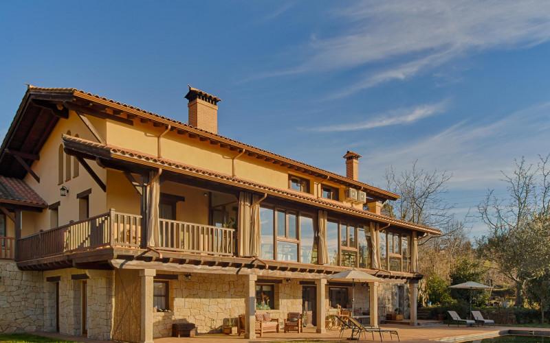Casa Rural de Alquiler Completo Sabina en Avila Jardin