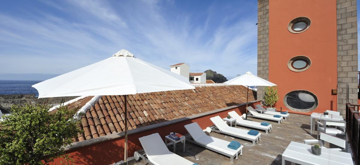 Rusticae Tenerife Hotel San Roque con encanto Terraza