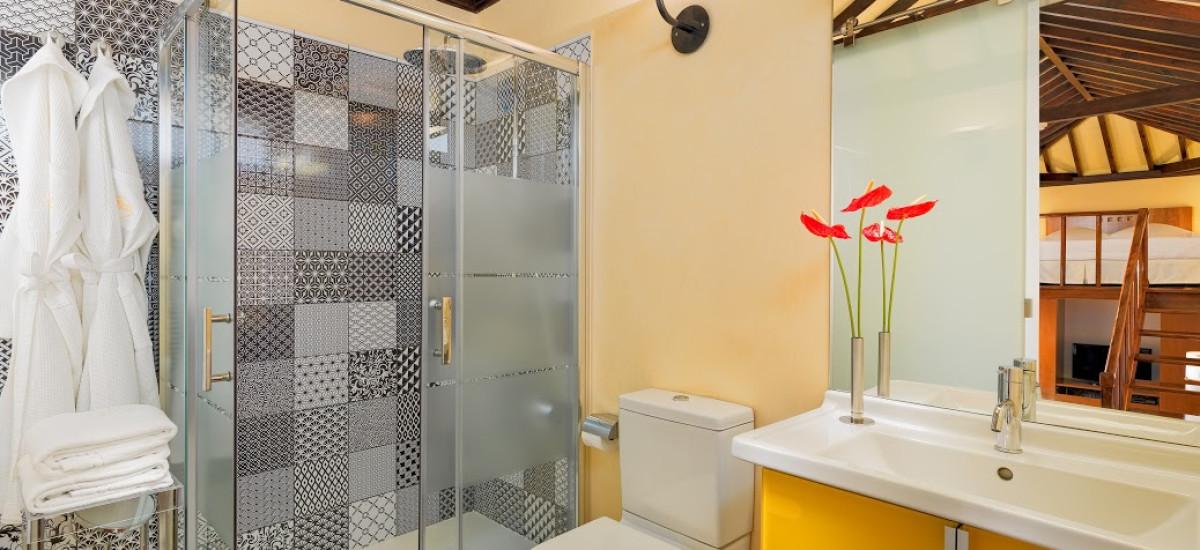 Rusticae Tenerife charming Hotel San Roque bathroom