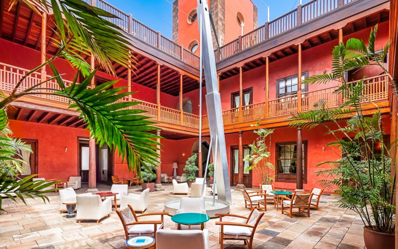 Rusticae Tenerife charming Hotel San Roque terrace